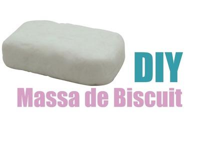 DIY - Massa de Biscuit Caseira