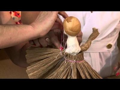 Aprenda a fazer um anjinho para decoração Natalina!