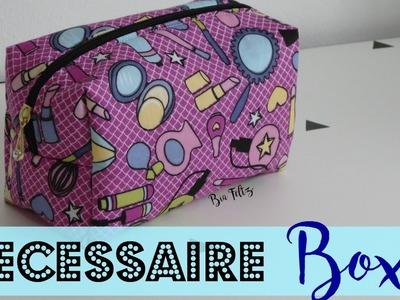 DIY   Costurinhas - Necessaire Box ( Passo a Passo ) - Bia Feltz