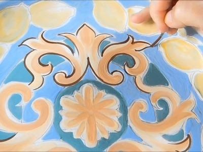 Pintura em cerâmica - Pottery painting - Ceramic Decoration: valeriato@hotmail.com