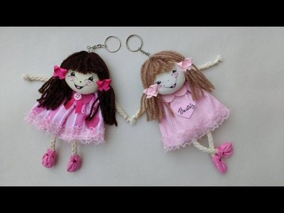 LEMBRANCINHA chaveiro boneca de cordão