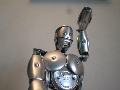''Tutorial 02'' Robo de Latinhas e fita perfurada.