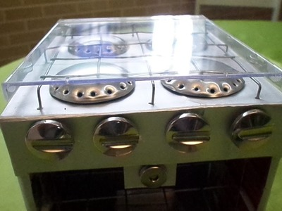 ''tutorial 05'' fogão de latinhas e caixa de leite