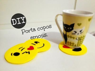 COMO FAZER UM PORTA COPOS DE EMOJI - DIY - #inspire-se