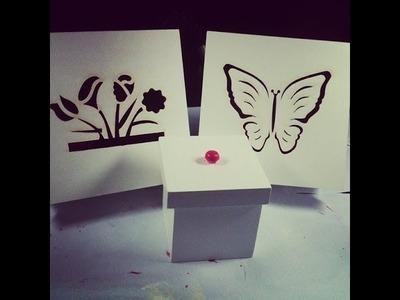 DIY - Como pintar caixinhas de MDF