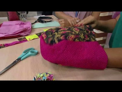 Mulher.com - 15.11.2016 - Bolsa de mão - Stephanie Carvalho  P1