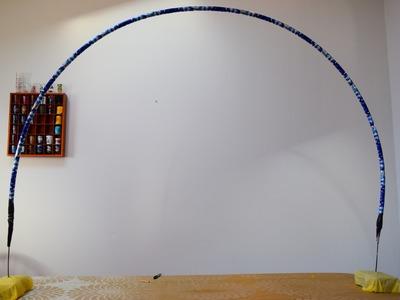 Passo a passo de como fazer em casa uma estrutura para arcos de baloes