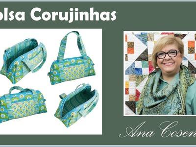 Patchwork com Ana Cosentino: Bolsa e Necessaire Coruja (Programa Arte Brasil 13.02.2015)