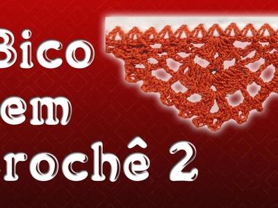 Bico em Crochê 2 - Marilda Artes