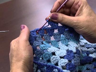 Mulher.com 10.06.2014 - Croche Capa para Puff por Marta Araújo - Parte 2
