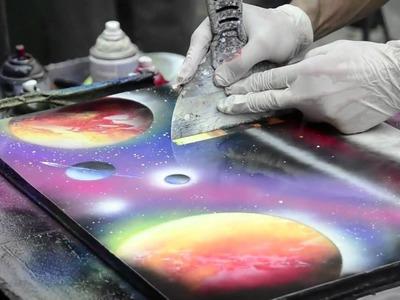 Pintor de Spray (INCRÍVEL)