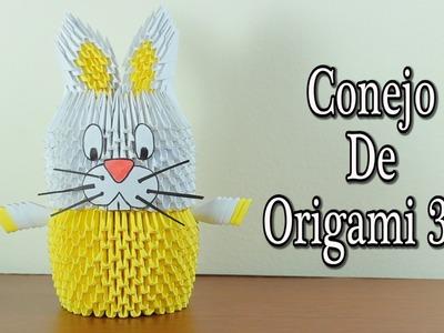 Rabbit. Conejo De Origami 3D TUTORIAL!
