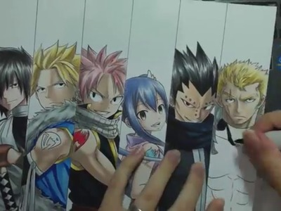 Speed Drawing - Dragon Slayers (Fairy Tail)