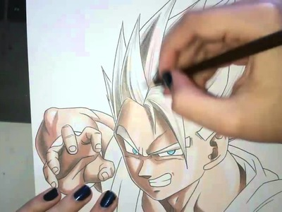 Speed Drawing - Gohan (Dragon Ball Z)