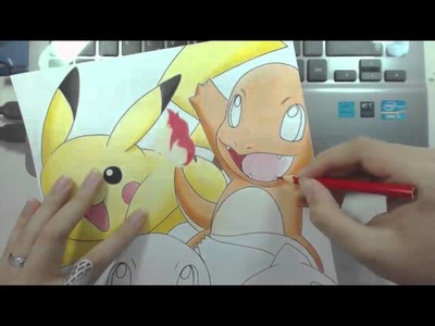 Speed Drawing - SPECIAL POKÉMON: 20th ANNIVERSARY