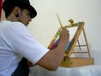 Aurisdeive Artista Plástico - Òleo sobre tela de papel paraná