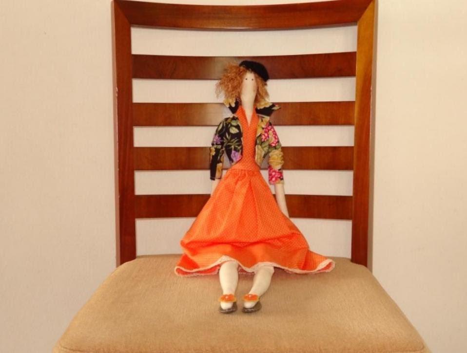 Boneca Tilda Emily - Roupa de boneca Tilda - Maria Adna Ateliê - Bonecas: Tildas (roupa)