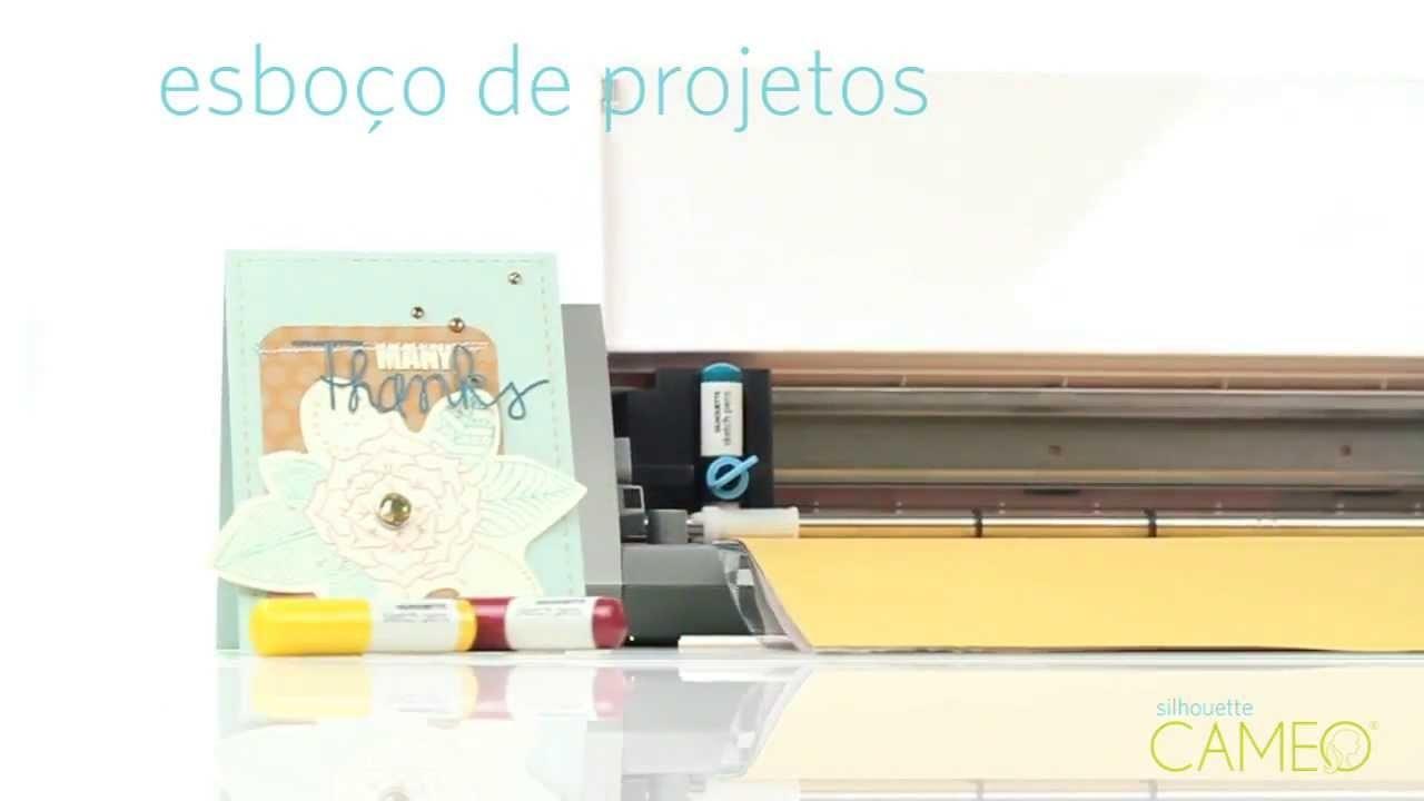 Conheça a Mini Plotter Silhouette Cameo (Ideal para seu Scrapbooking)