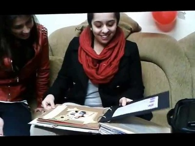 Despedida da Liliana - Entrega do Scrapbook