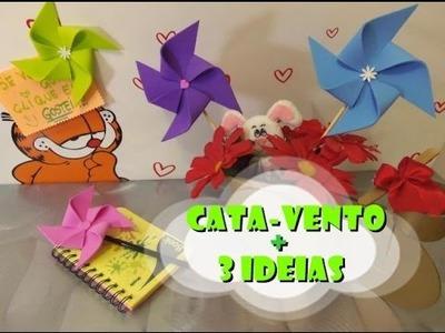 DIY.: Cata-Vento + 3 idéias