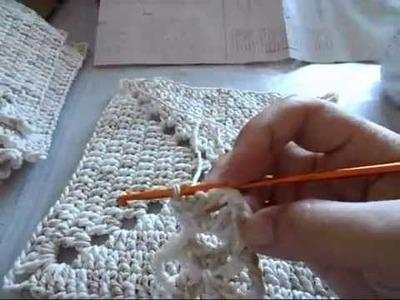 Hilda Eroles - vídeo 17 parte 1 - Bolsa Saco em crochê para o verão