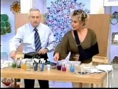 Luiz Fernando dá dicas sobre marmorização no Programa Mais Você, da Rede Globo