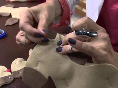 Mulher.com 17.09.2014 - Cavalinho Articulado Feltro por Karina Raszl - Parte 1