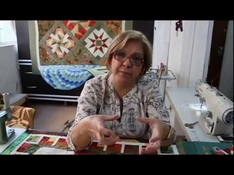 Patchwork Sem Segredos com Ana Cosentino: Aula 19 (Dicas de Bordas nos trabalhos)