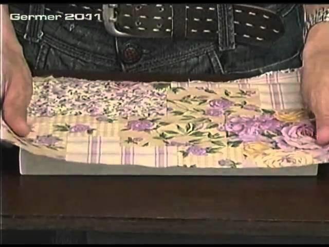Programa Evidência (27.02.2011) Passo a passo de uma caixa de bijuteria