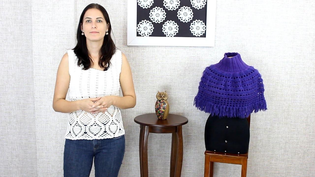 Tendências Outono.Inverno 2015 - Aprendendo Crochê