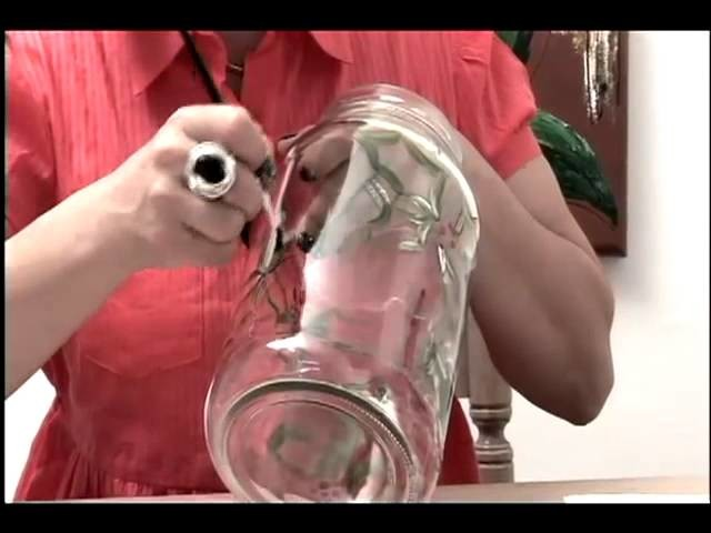 Tv Transamérica - Técnica: Pintura em vidro