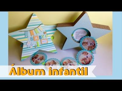 ALBUM INFANTIL CON FORMA DE ESTRELLA