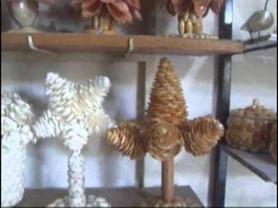 Arte em Conchas, com José Leal de Oliveira