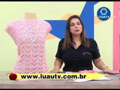 Blusa Denancyr em trico com Camila Fashion