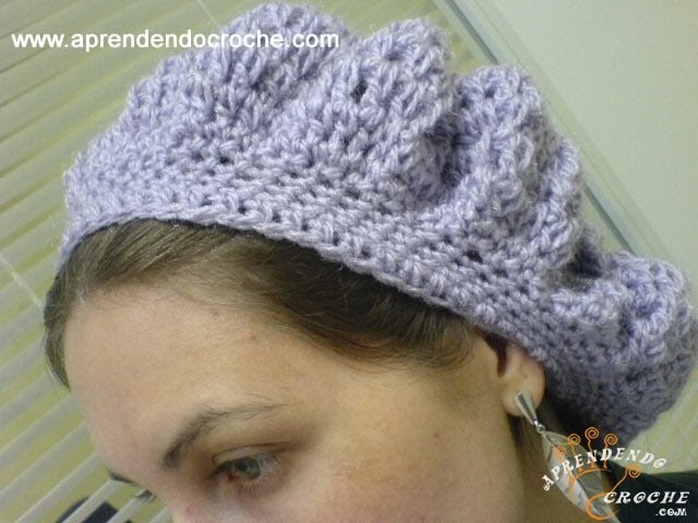 Boina Croche Dafne - 1º Parte - Aprendendo Crochê