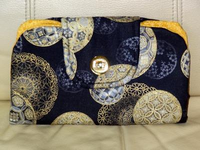 Bolsa.carteira em tecido Liz - Maria Adna Ateliê - Cursos e aulas de bolsas e carteiras em tecidos