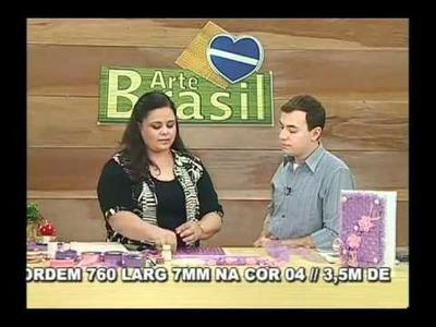Caderno de Recordações com fitas por Valéria Soares - Parte 1