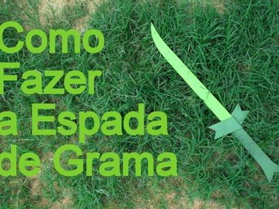 Como Fazer a Espada de grama do Finn de Hora da Aventura para o seu Cosplay - Dicas de Cosmaker