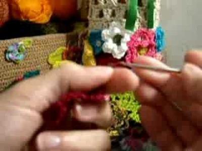 Croche - Flor Vermelha
