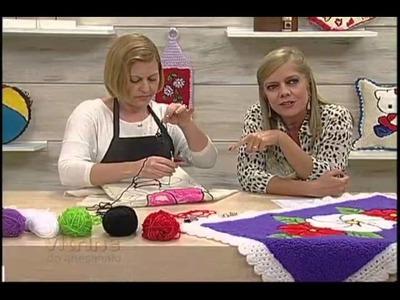 Especial Tapete de Flores (Agulha Mágica) com Tânia Silva - Vitrine do Artesanato na TV