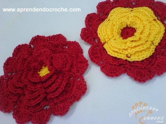 Flor de Croche Preciosa - 1º Parte