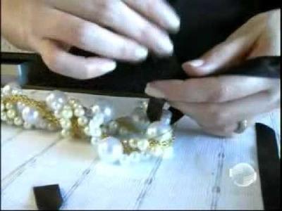 Liana aragão ensina como fazer Maxi Colares que são tendência para 2012