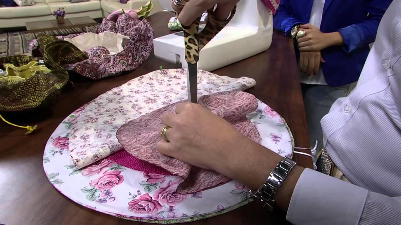 Mulher.com 10.05.2013 Maura Castro - Arte em tecido Parte 1