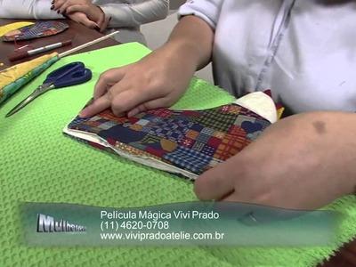 Mulher.com 17.07.2013 Vivi Prado - Galinha porta pão Parte 2.2