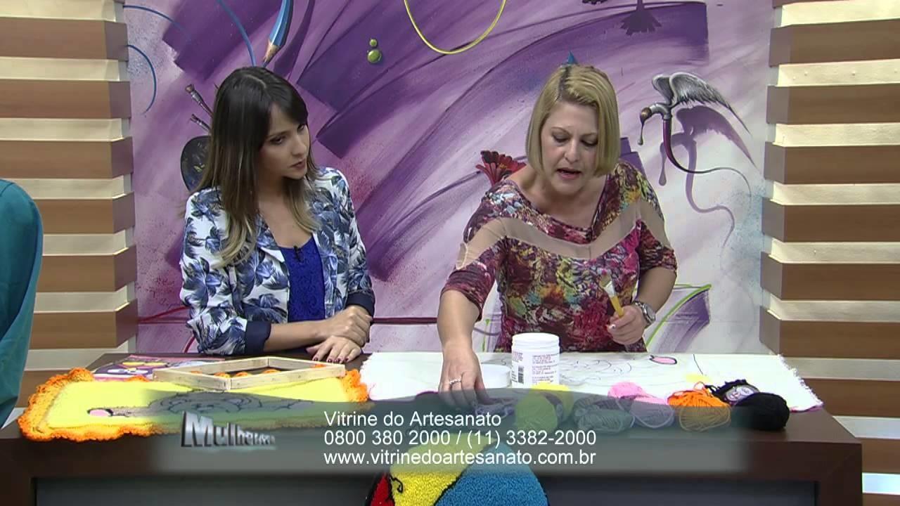 Mulher.com 25.09.2014 - Bordado Agulha Magica Ursinho por Tânia Silva - Parte 2