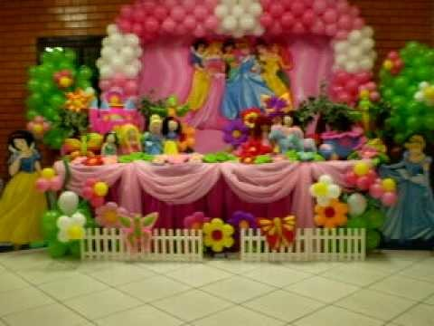 Princesas rosa