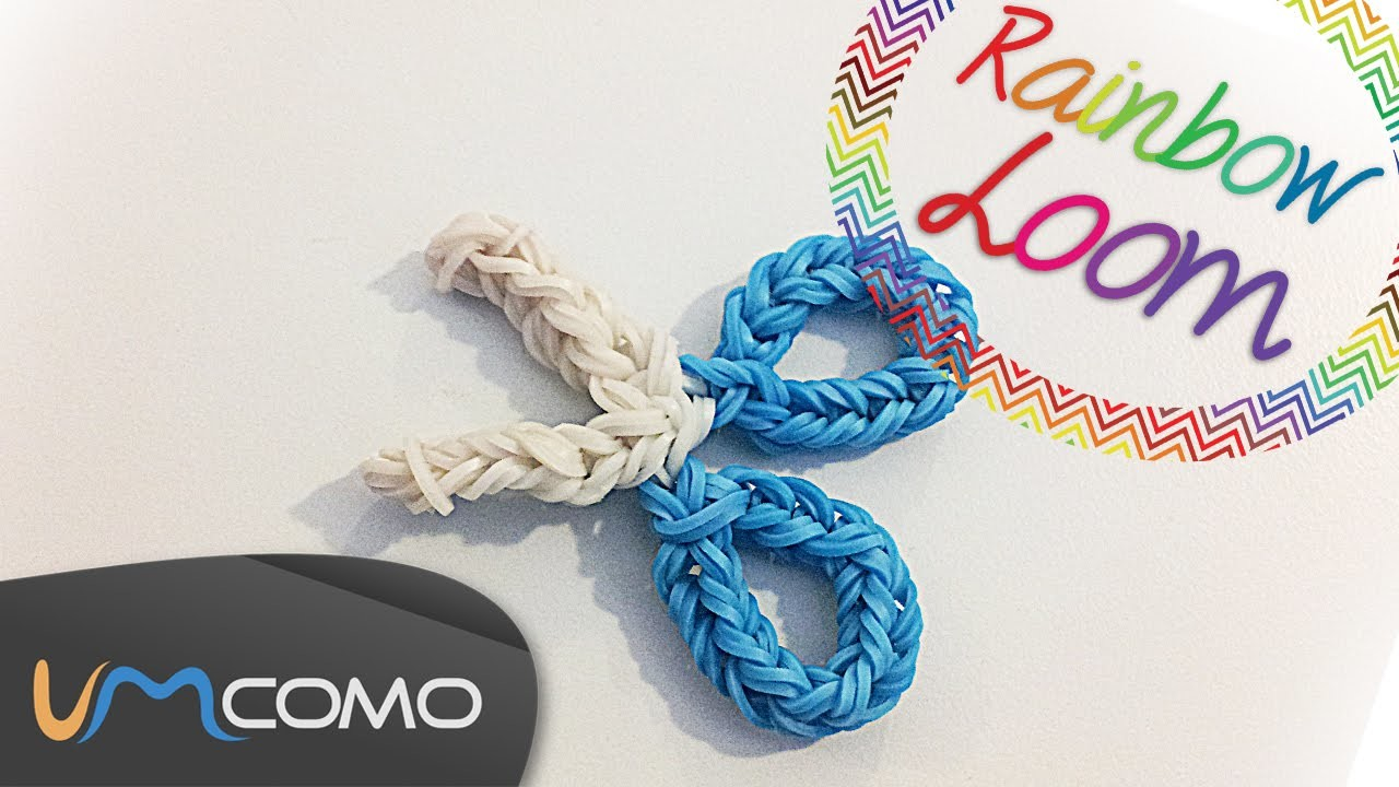 Tesoura - Rainbow Loom