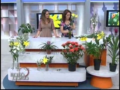 Transforme garrafas e potes em lindos arranjos florais