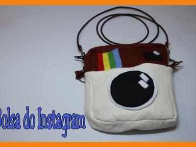 Como fazer uma bolsa do Instagram - DIY - Instagram Bag- Muito fácil