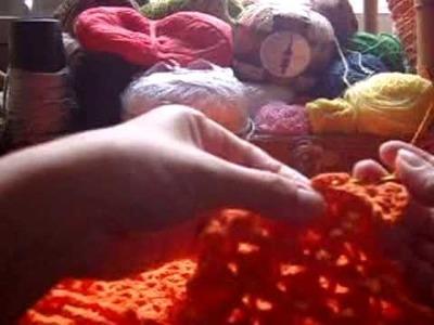 Crochê: Bolsa em Ponto Escama com Picô - 05.05